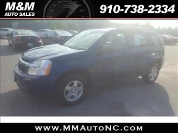 2009 Chevrolet Equinox for sale at M and M Auto Sales in Lumberton NC