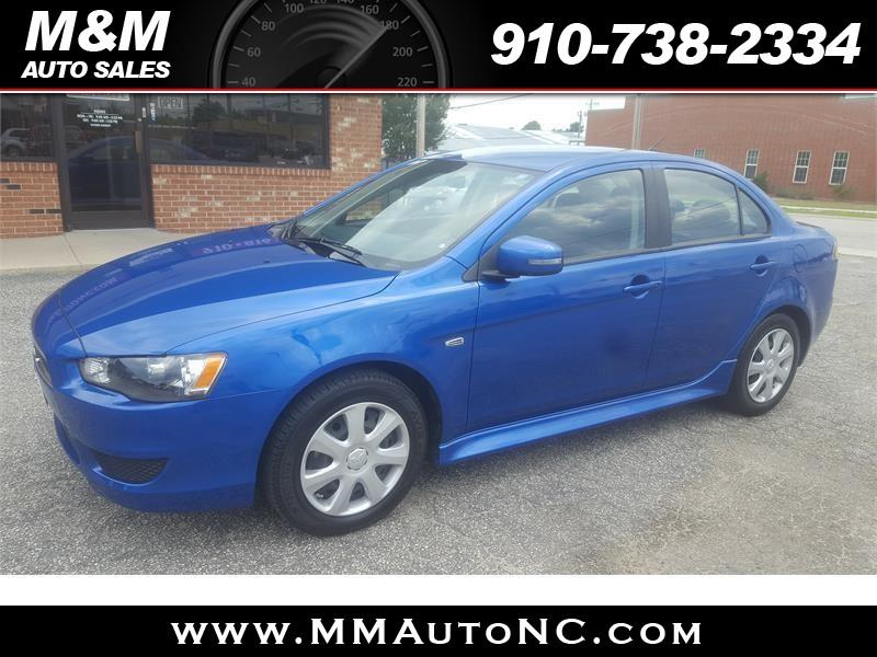 2015 Mitsubishi Lancer for sale at M and M Auto Sales in Lumberton NC