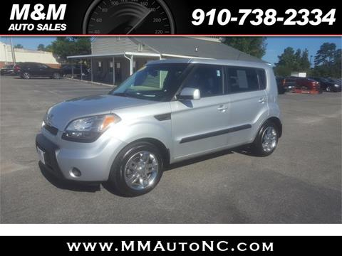2011 Kia Soul for sale at M and M Auto Sales in Lumberton NC