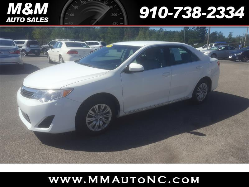 2012 Toyota Camry for sale at M and M Auto Sales in Lumberton NC