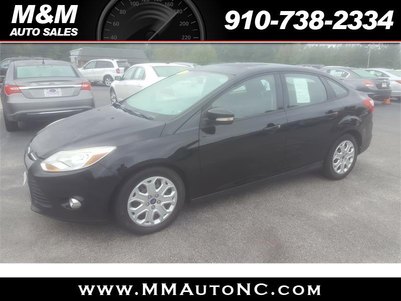 2012 Ford Focus for sale at M and M Auto Sales in Lumberton NC