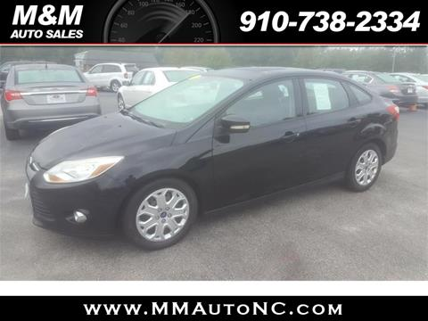 2012 Ford Focus for sale in Lumberton, NC