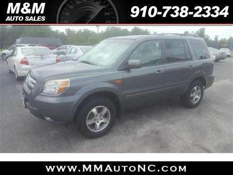 2008 Honda Pilot for sale at M and M Auto Sales in Lumberton NC
