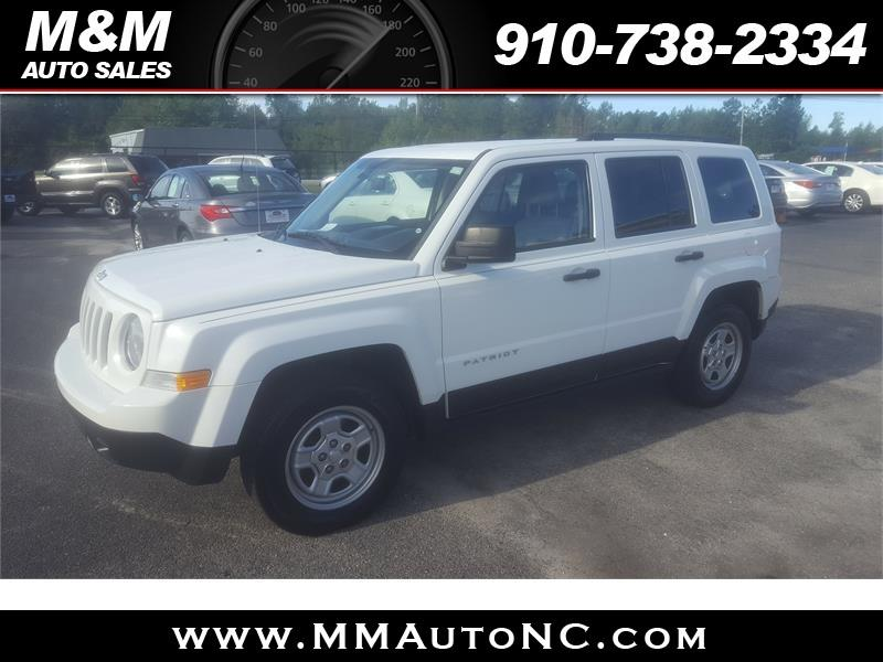2012 Jeep Patriot for sale at M and M Auto Sales in Lumberton NC