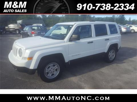 2012 Jeep Patriot for sale in Lumberton, NC