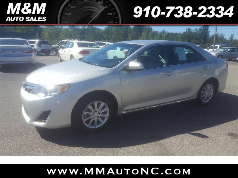 2013 Toyota Camry for sale at M and M Auto Sales in Lumberton NC