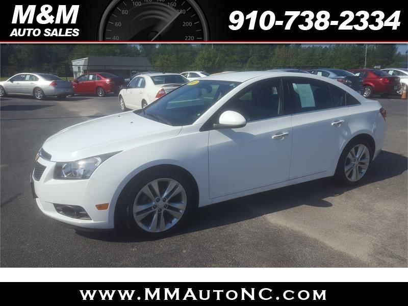 2013 Chevrolet Cruze for sale at M and M Auto Sales in Lumberton NC