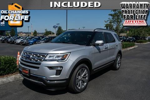 2018 Ford Explorer for sale in Sumner, WA