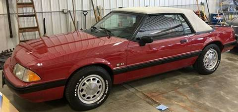 1989 Ford Mustang for sale at Gary Miller's Classic Auto in El Paso IL