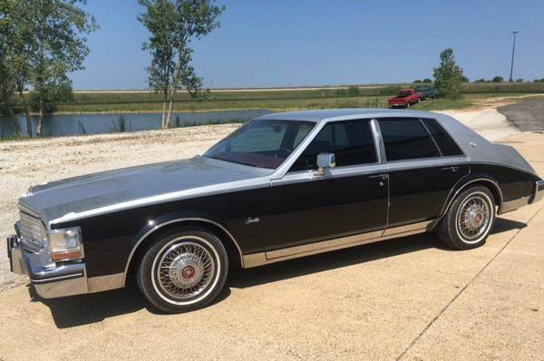 1983 Cadillac Seville for sale at Gary Miller's Classic Auto in El Paso IL