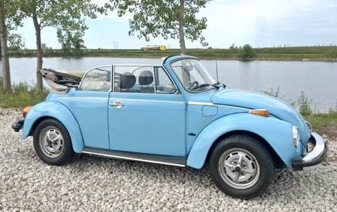 1979 Volkswagen Beetle Convertible for sale in El Paso, IL