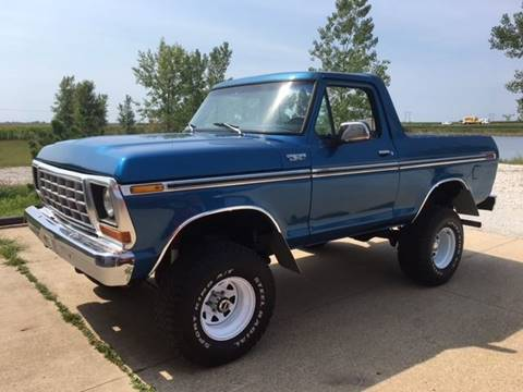 1978 Ford Bronco for sale at Gary Miller's Classic Auto in El Paso IL