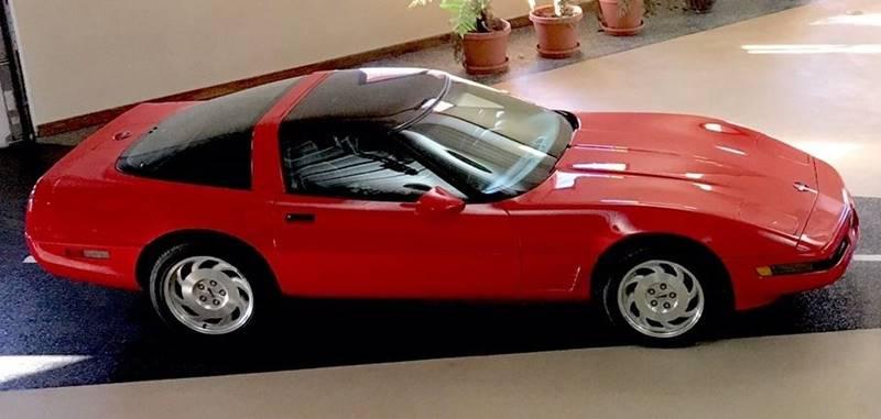 1995 Chevrolet Corvette for sale at Gary Miller's Classic Auto in El Paso IL