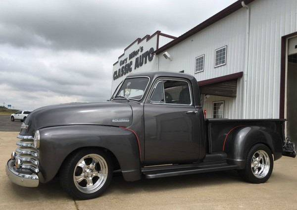 1952 Chevrolet 3100 for sale at Gary Miller's Classic Auto in El Paso IL