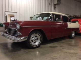 1955 Chevrolet Bel Air for sale at Gary Miller's Classic Auto in El Paso IL