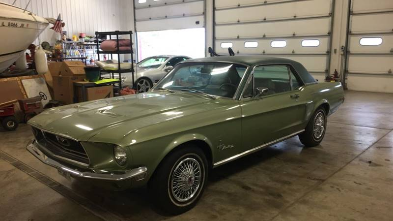 1968 Ford Mustang for sale at Gary Miller's Classic Auto in El Paso IL