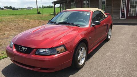 2003 Ford Mustang for sale at Gary Miller's Classic Auto in El Paso IL