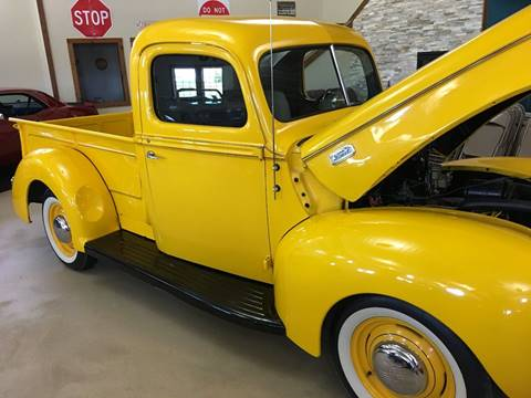 1941 Ford F-150 for sale at Gary Miller's Classic Auto in El Paso IL