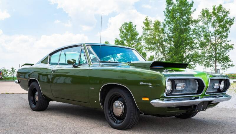 1969 Plymouth Barracuda for sale at Gary Miller's Classic Auto in El Paso IL