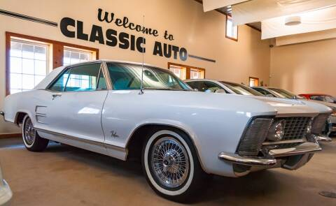 1964 Buick Riviera for sale at Gary Miller's Classic Auto in El Paso IL