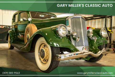 1934 Pierce Arrow XT for sale at Gary Miller's Classic Auto in El Paso IL