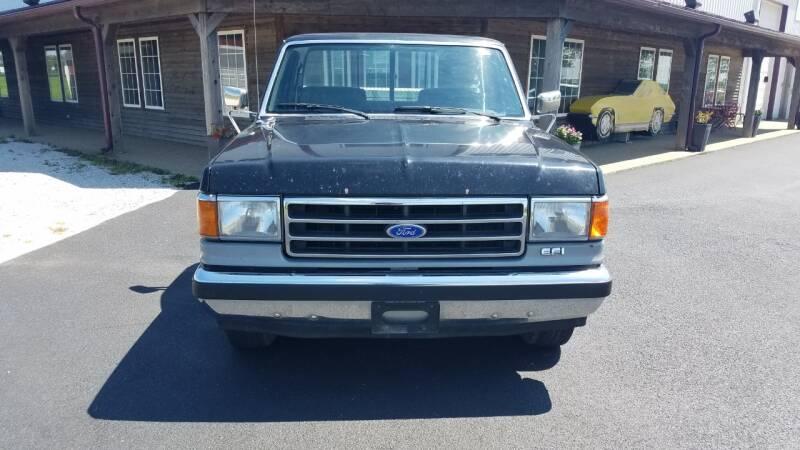 1991 Ford F-150 2dr XLT Lariat Standard Cab LB - El Paso IL