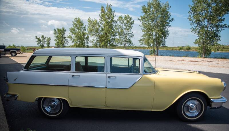 1955 Pontiac Chieftain 4dr Station Wagon - El Paso IL