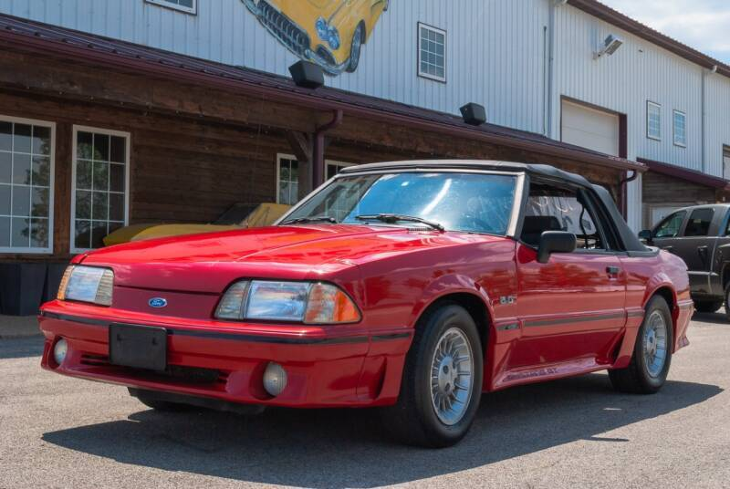1990 Ford Mustang GT 2dr Convertible - El Paso IL