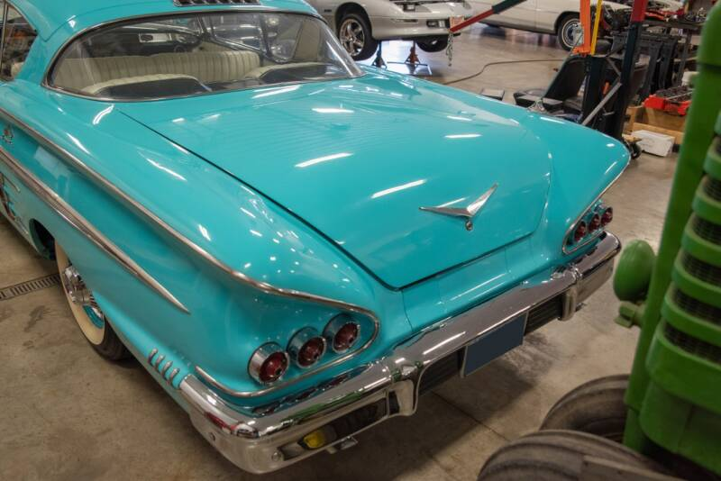 1958 Chevrolet Impala Hard Top Sport Coupe - El Paso IL