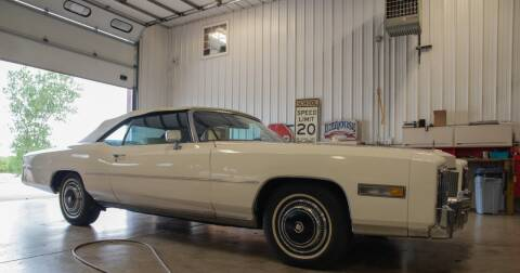 1976 Cadillac Eldorado for sale at Gary Miller's Classic Auto in El Paso IL