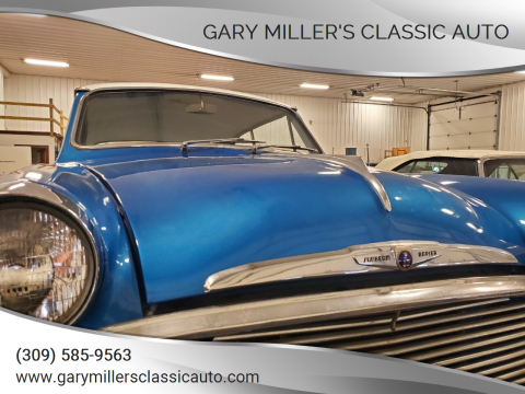 1957 Sunbeam Rapier I for sale at Gary Miller's Classic Auto in El Paso IL