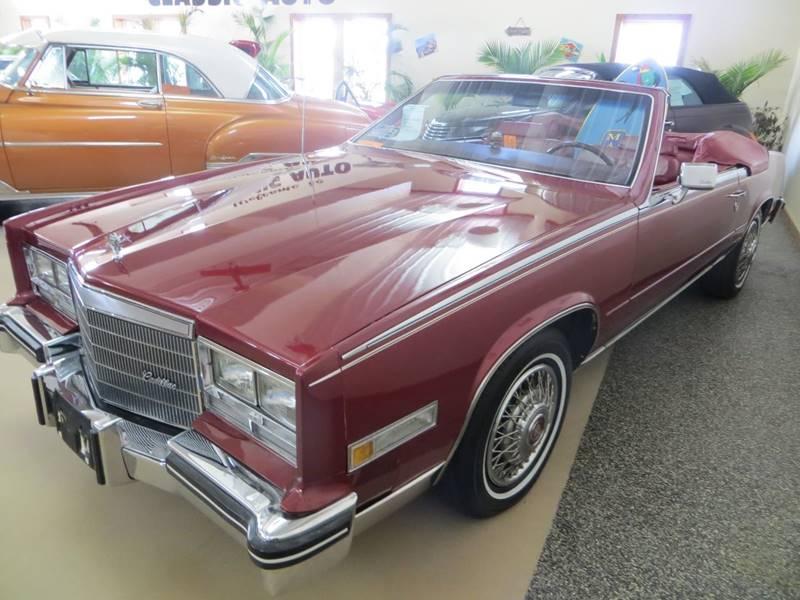 1984 Cadillac Eldorado Biarritz for sale at Gary Miller's Classic Auto in El Paso IL