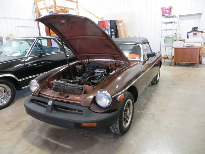 1977 mg mgb roadster in el paso il gary miller 39 s classic auto. Black Bedroom Furniture Sets. Home Design Ideas