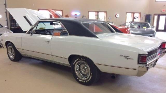 1967 Chevrolet Chevelle for sale at Gary Miller's Classic Auto in El Paso IL