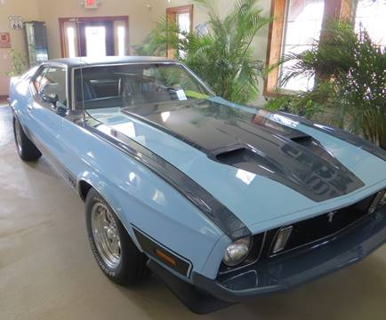 1973 Ford Mustang for sale at Gary Miller's Classic Auto in El Paso IL