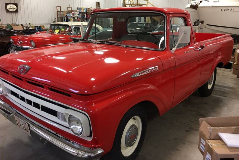 1961 Ford F-100 for sale at Gary Miller's Classic Auto in El Paso IL
