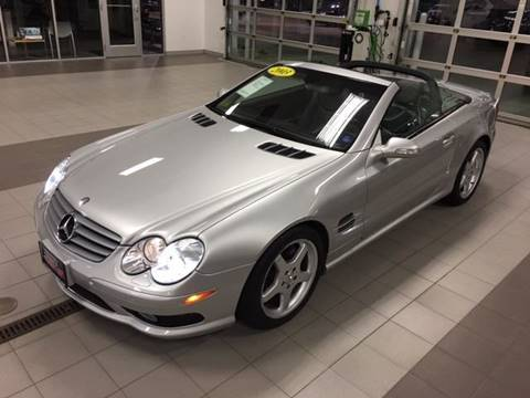 2003 Mercedes-Benz SL-Class for sale at Gary Miller's Classic Auto in El Paso IL