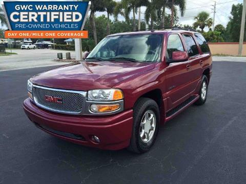 2006 GMC Yukon for sale in Stuart, FL