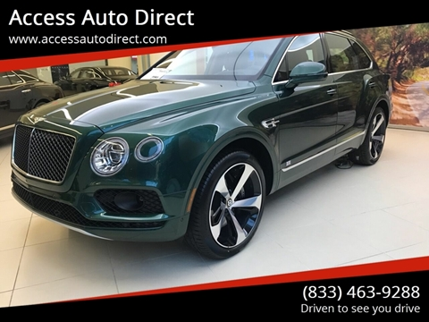 2019 Bentley Bentayga for sale in Baldwin, NY