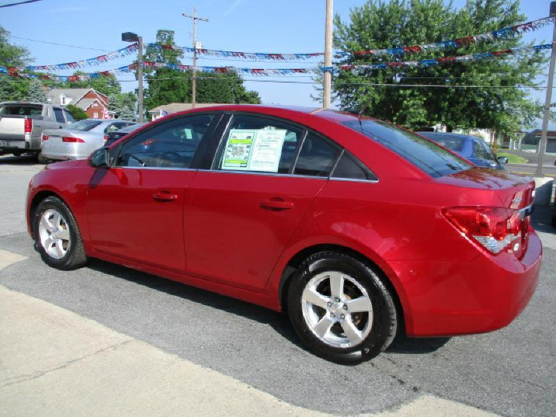 2012 Chevrolet Cruze for sale at FINAL DRIVE AUTO SALES INC in Shippensburg PA