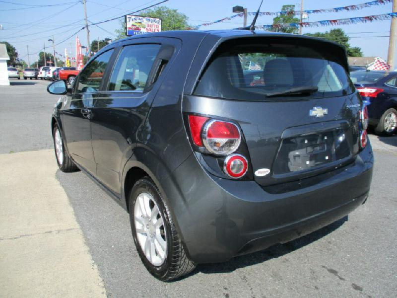 2012 Chevrolet Sonic for sale at FINAL DRIVE AUTO SALES INC in Shippensburg PA