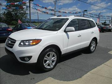 2012 Hyundai Santa Fe for sale at FINAL DRIVE AUTO SALES INC in Shippensburg PA