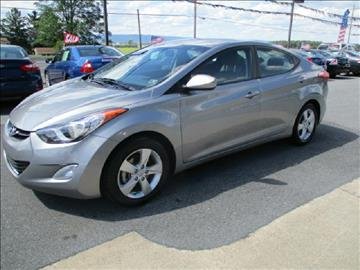 2013 Hyundai Elantra for sale at FINAL DRIVE AUTO SALES INC in Shippensburg PA