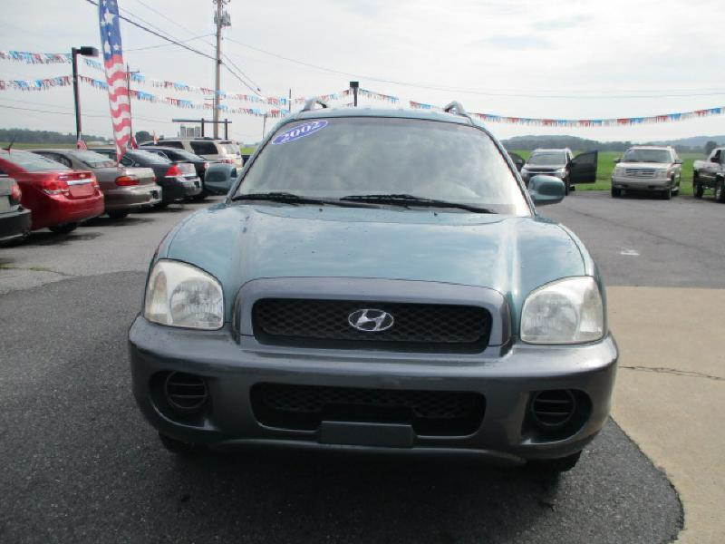 2002 Hyundai Santa Fe for sale at FINAL DRIVE AUTO SALES INC in Shippensburg PA