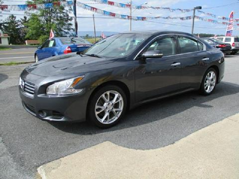 2012 Nissan Maxima for sale at FINAL DRIVE AUTO SALES INC in Shippensburg PA
