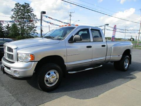 2004 Dodge Ram Pickup 3500 for sale at FINAL DRIVE AUTO SALES INC in Shippensburg PA