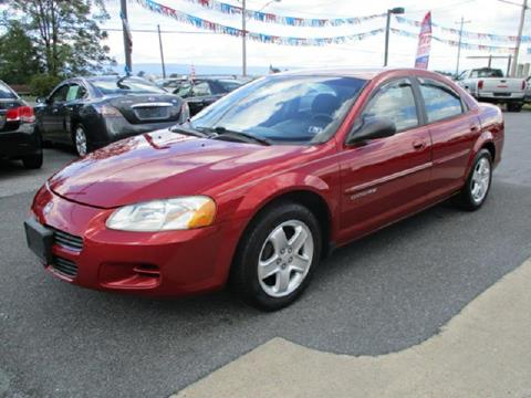 2001 Dodge Stratus for sale at FINAL DRIVE AUTO SALES INC in Shippensburg PA
