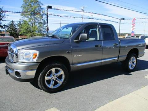 2008 Dodge Ram Pickup 1500 for sale at FINAL DRIVE AUTO SALES INC in Shippensburg PA