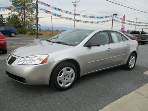 2007 Pontiac G6 for sale at FINAL DRIVE AUTO SALES INC in Shippensburg PA
