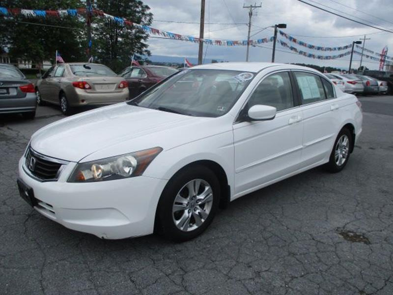 2008 Honda Accord For Sale At FINAL DRIVE AUTO SALES INC In Shippensburg PA